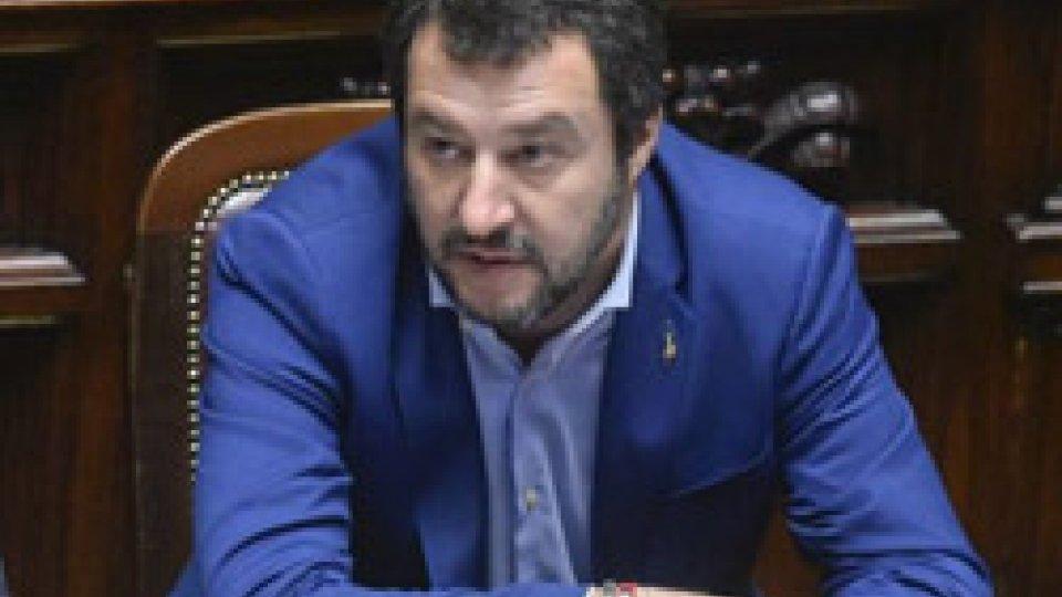 """Matteo SalviniIn Senato via libera al decreto sicurezza, Salvini: """"Governo andrà avanti per 5 anni"""""""