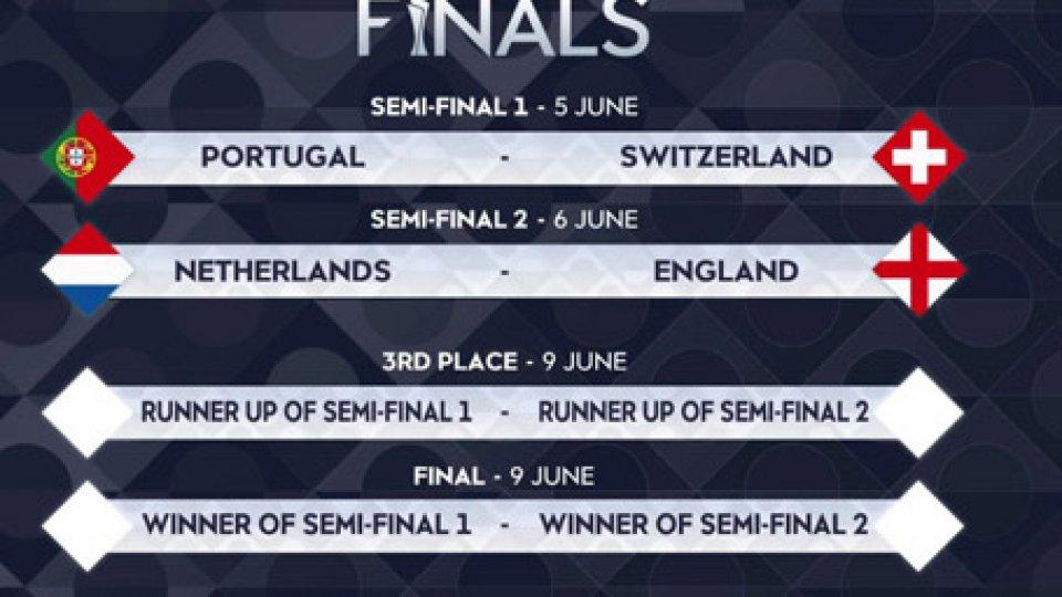 Sorteggi NationsNations League, le semifinali sono Portogallo-Svizzera e Olanda-Inghilterra