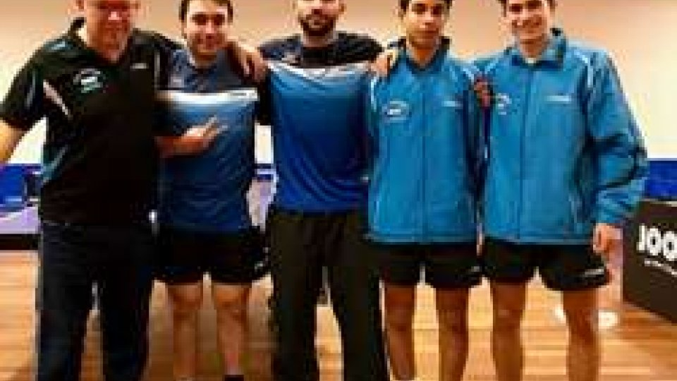 Successo per i sammarinesi del Tennistavolo Campionati a Squadre