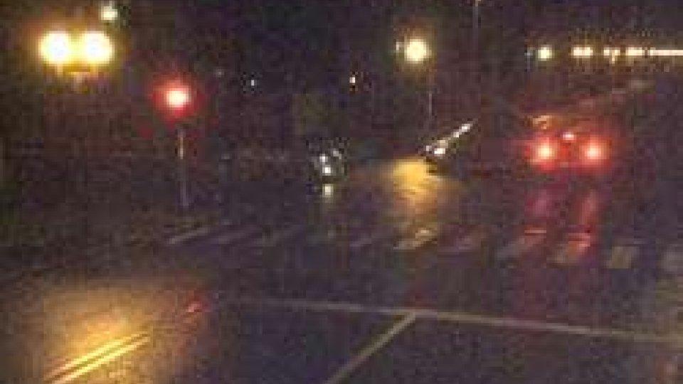L'incidente in Via Principe AmedeoPassa con il rosso in Via Principe Amedeo
