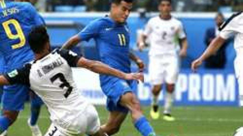 Brasile, tutto nel recupero: Costa Rica ko 2-0 ed eliminata