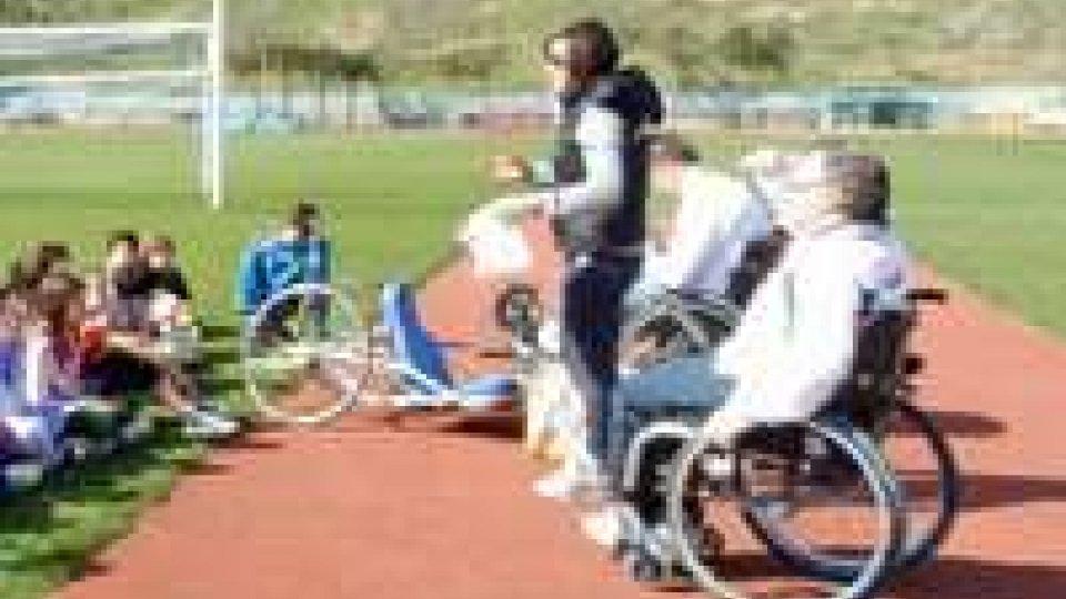 San Marino - La Paralimpiadi come tema della prova di terza media
