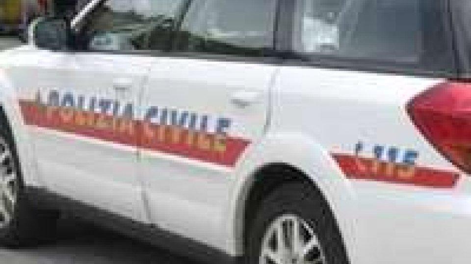 Dogana: scontro auto-bicicletta; ferito 54enne