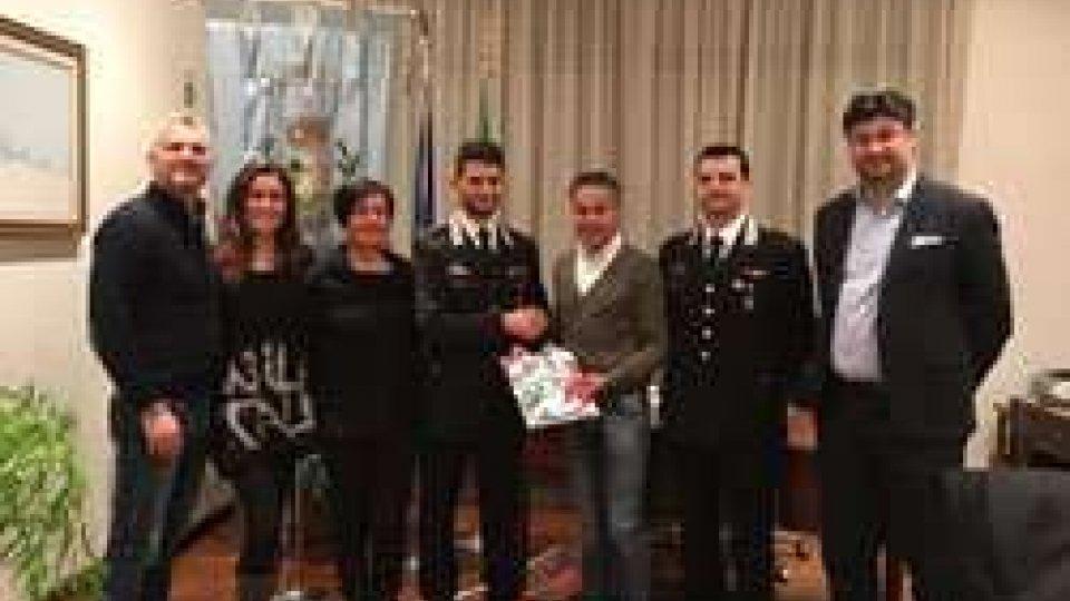 San Giovanni in Maragnano, scambio degli auguri natalizi tra Comune e Arma dei Carabinieri