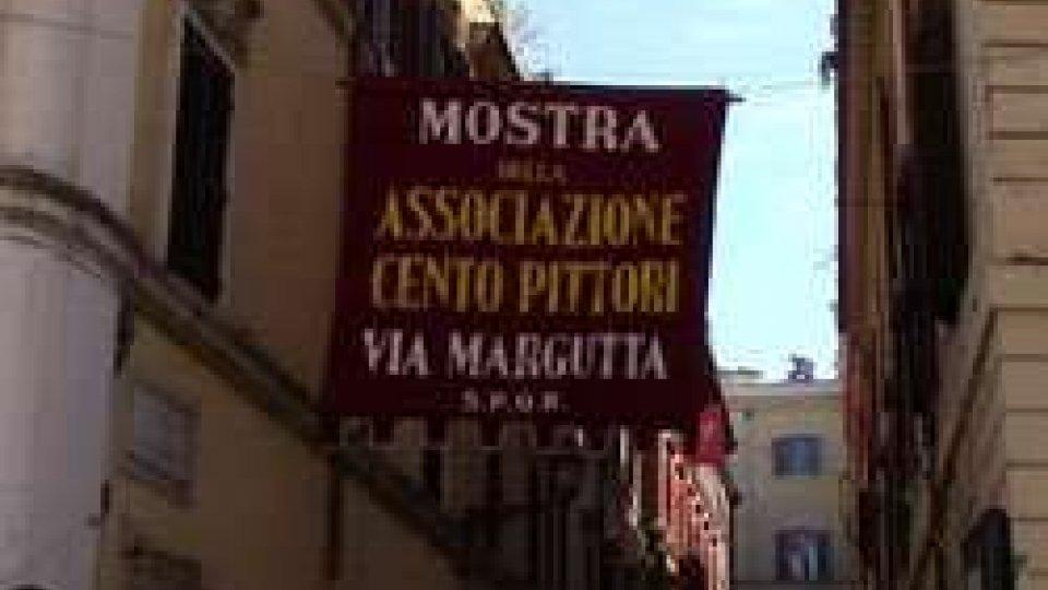 via MarguttaRoma: arte a cielo aperto in via Margutta con l'associazione Cento Pittori