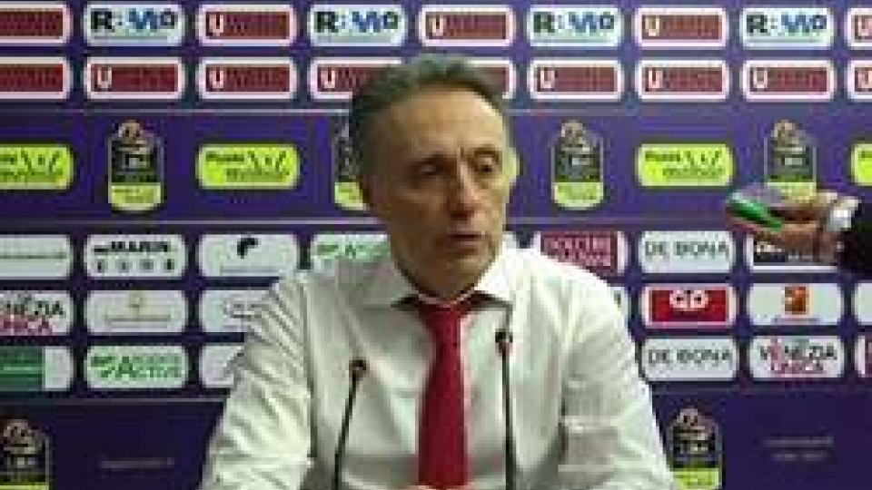 "Piero BucchiVL Pesaro, Bucchi: ""A metà terzo quarto si è spenta la luce"""