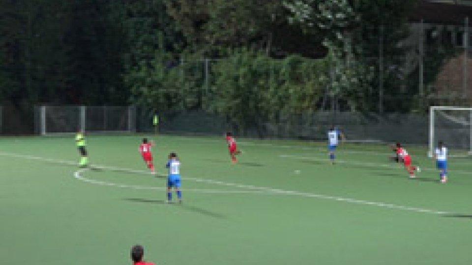 Calcio femminile: la San Marino Academy batte il Riccione ed approda agli ottavi di finale di Coppa Italia