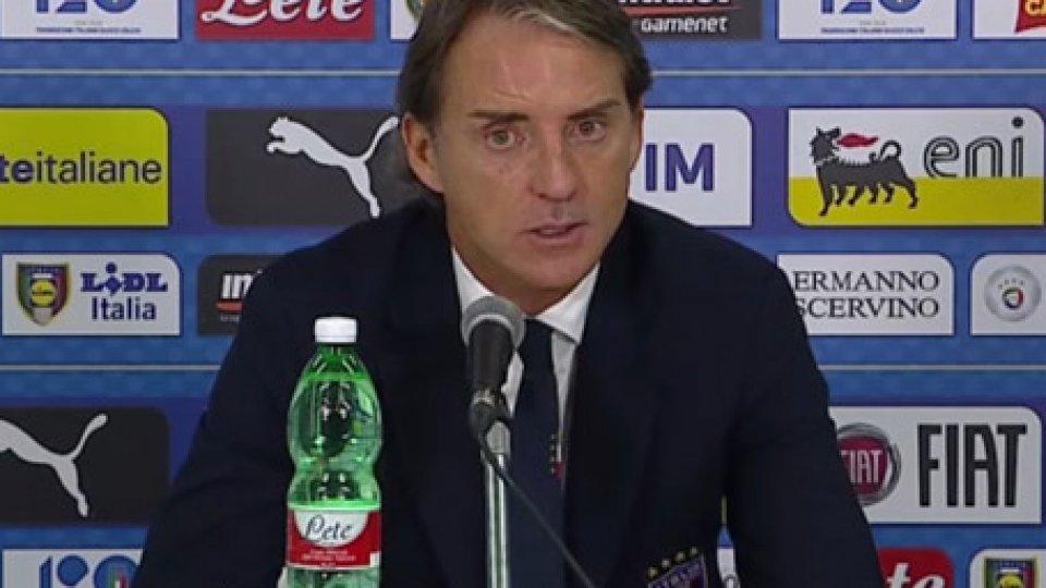 """Intervista a Roberto ManciniItalia-Ucraina 1-1, Mancini: """"è colpa nostra se non abbiamo chiuso"""""""