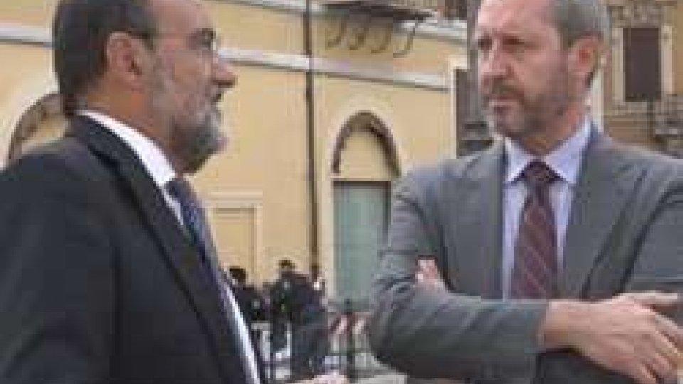 """Carlo Romeo e Benedetto Della VedovaAccordo radiotv, Della Vedova: """"Ora partnership rinnovata con l'Italia"""""""