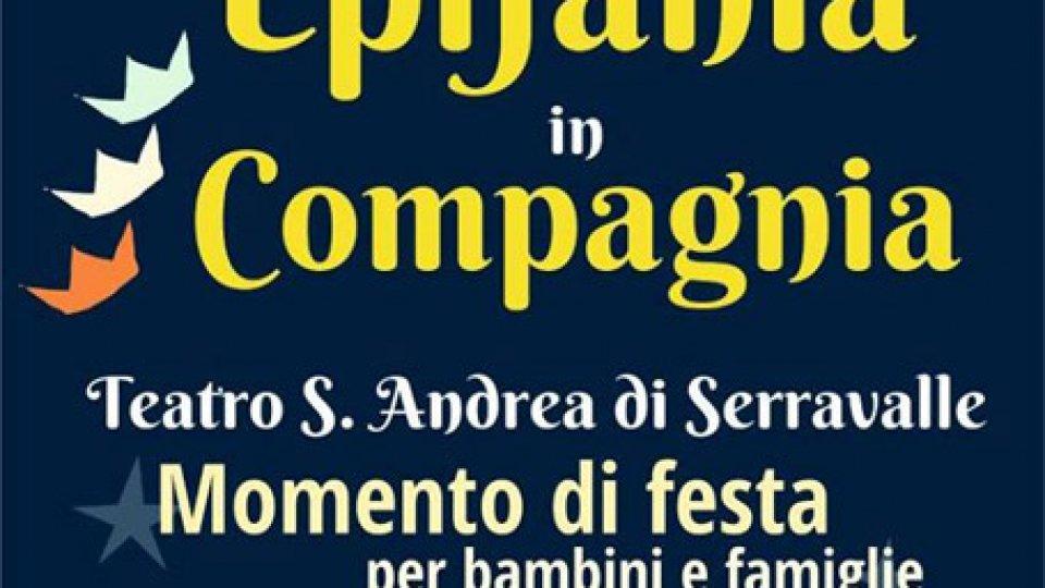 Tre giorni con film e Festa dell'Epifania al Teatro S. Andrea di Serravalle