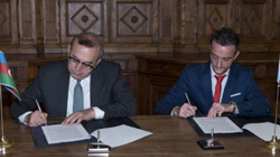 Firmato l'accordo con l'Azerbaigian per la cooperazione in ambito energetico