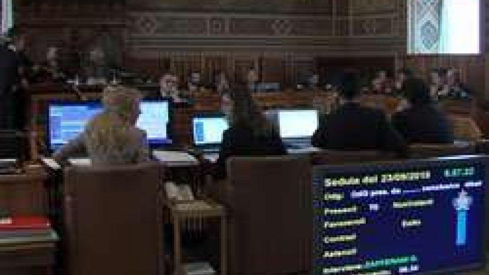 Capicchioni: entro l'anno l'accordo EcofinConsiglio: Capicchioni, entro l'anno l'accordo Ecofin