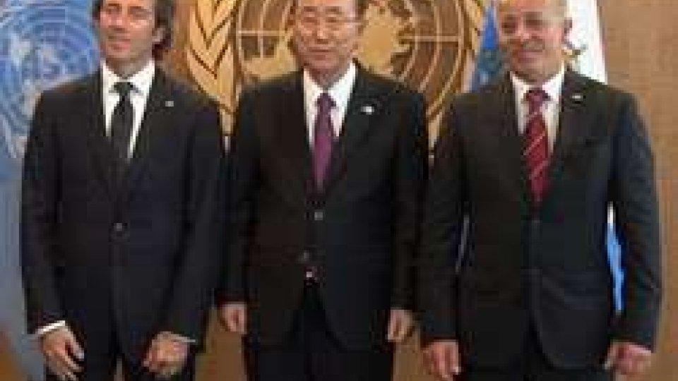 ONU: l'intervento della Reggenza nella sala dell'Assemblea GeneraleNew York: il discorso integrale della Reggenza all'ONU