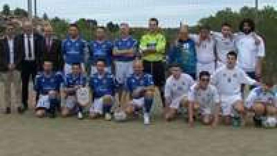 Special Football Event: gendarmi contro i ragazzi degli Special
