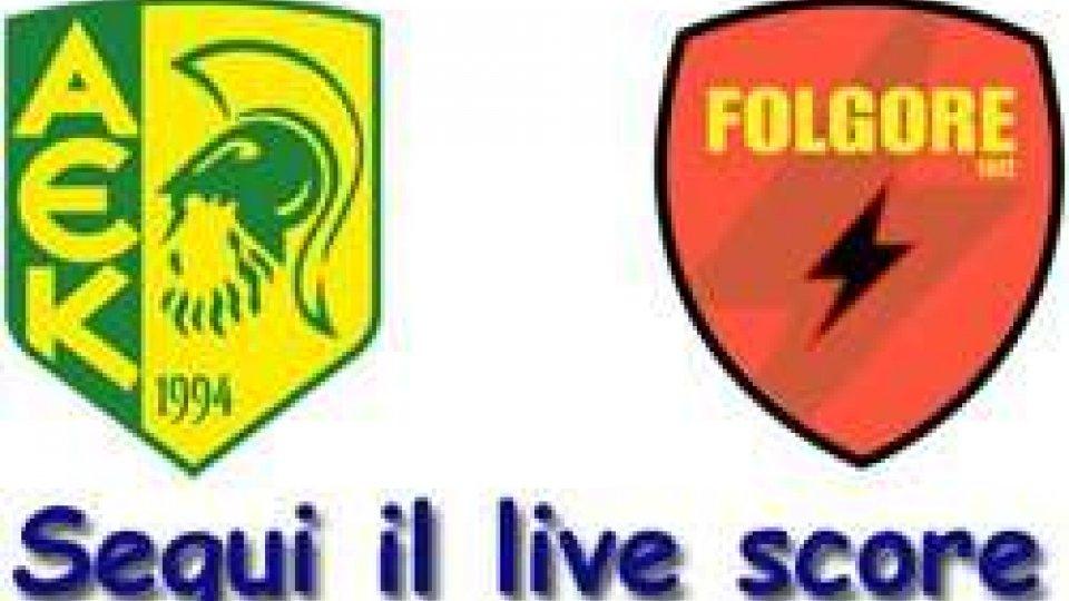 Europa League: Larnaca - FOLGORE 3-0 FINALE
