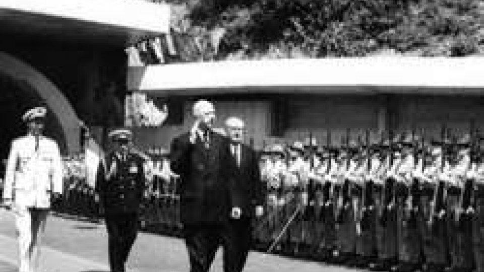 Giuseppe Saragat e Charles De Gaulle