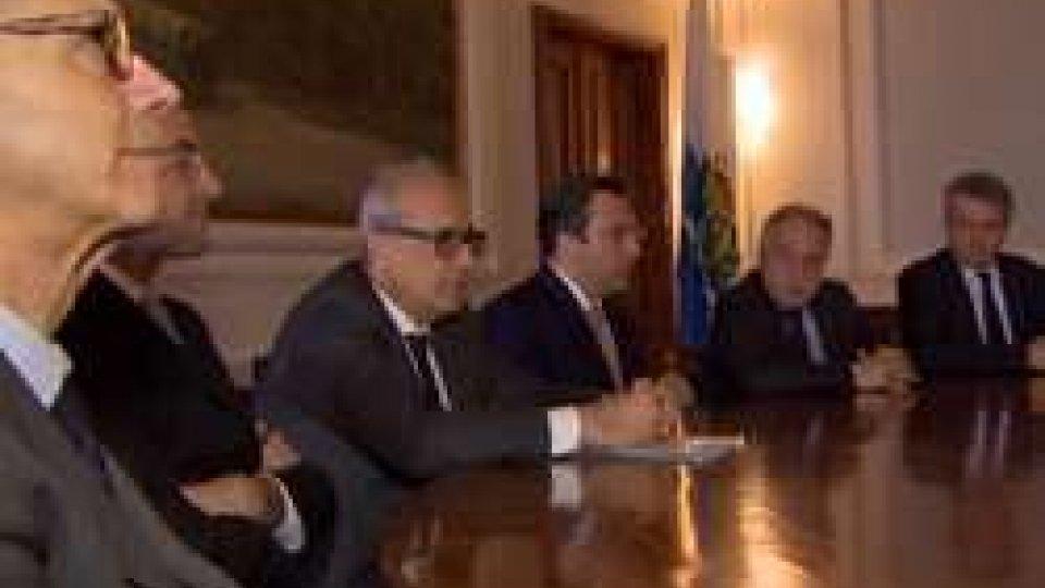 I relatori della conferenza stampaLa Sanità punta sulla qualità e la formazione, accordo con l'Università di Modena