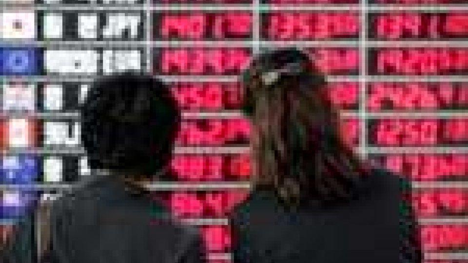 Borsa: l'Europa conclude in calo una seduta nervosa