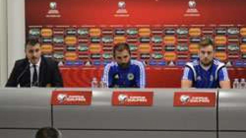 La Nazionale è arrivata a VilniusLa Nazionale che domani sera affronterà la Lituania è arrivata a Vilnius