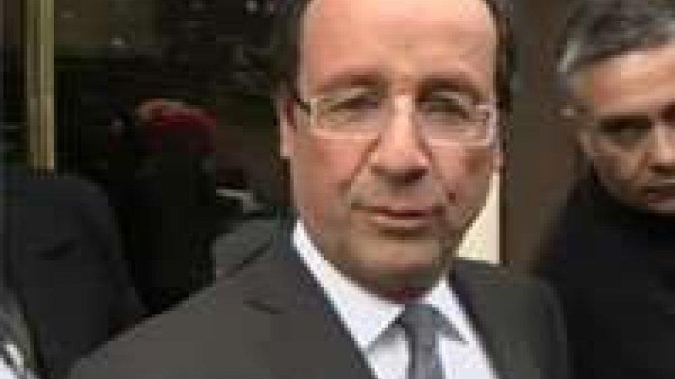"""Hollande: """"La Germania non può decidere per tutti"""""""