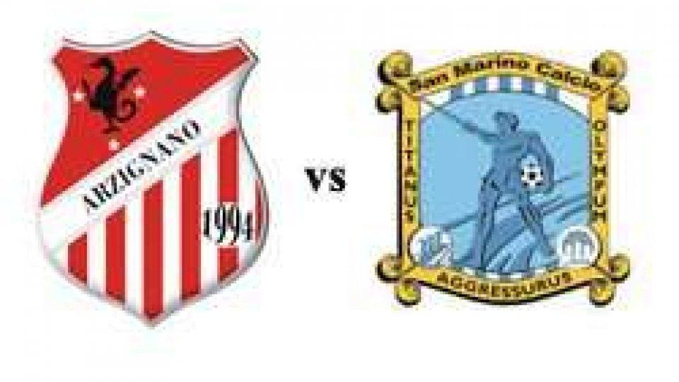 Arzignano Chiampo–San Marino 1-2