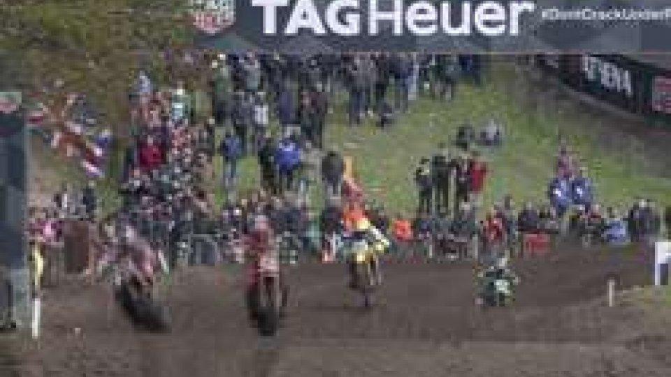 Motocross, Paulin vince il GP d'Europa. Cairoli recupera 4 punti a Gajser