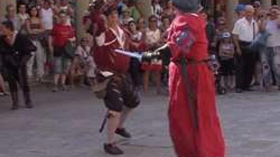 Giornate MedioevaliSan Marino: partite le gironate medioevali
