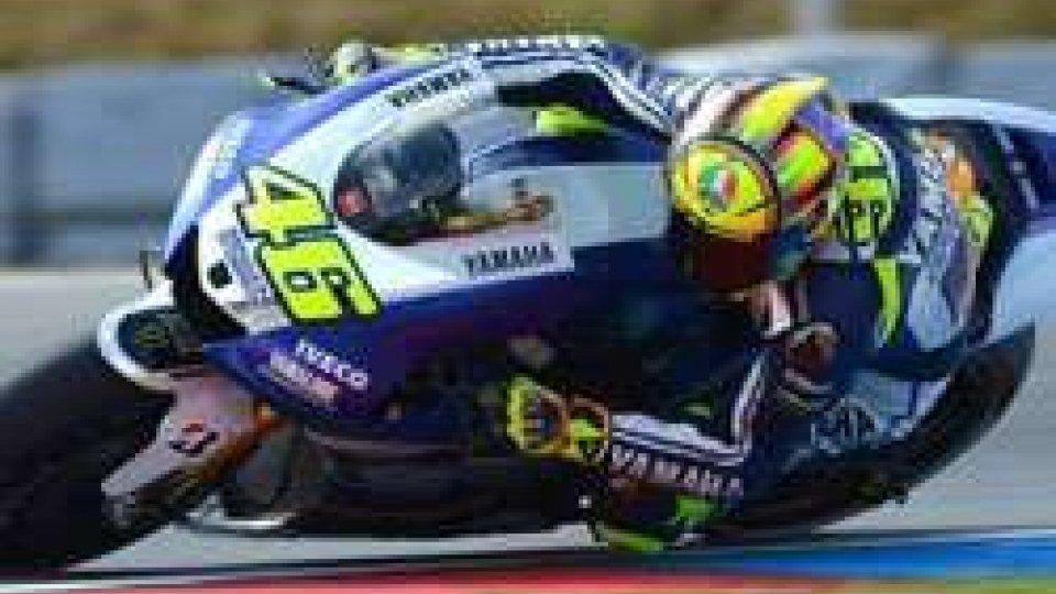 MotoGP: Rossi insegue Lorenzo nel terzo turno di prove libere a Brno