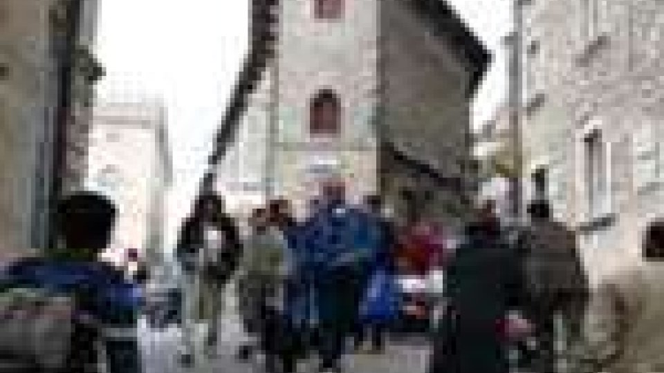 Turisti a San Marino