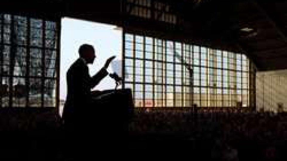 """Ultimo discorso di Obama """"rispettate i diritti"""""""