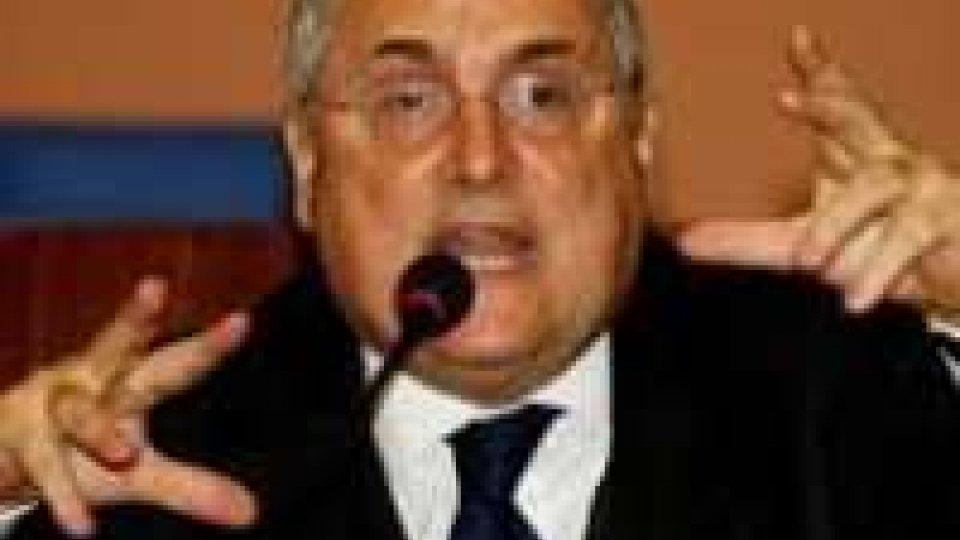"""Figc, Lotito: """"Tavecchio sarà presidente nonostante il killeraggio"""""""