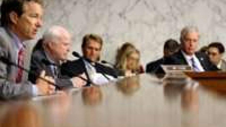 Siria, primo sì ad attacco da Commissione senato USA