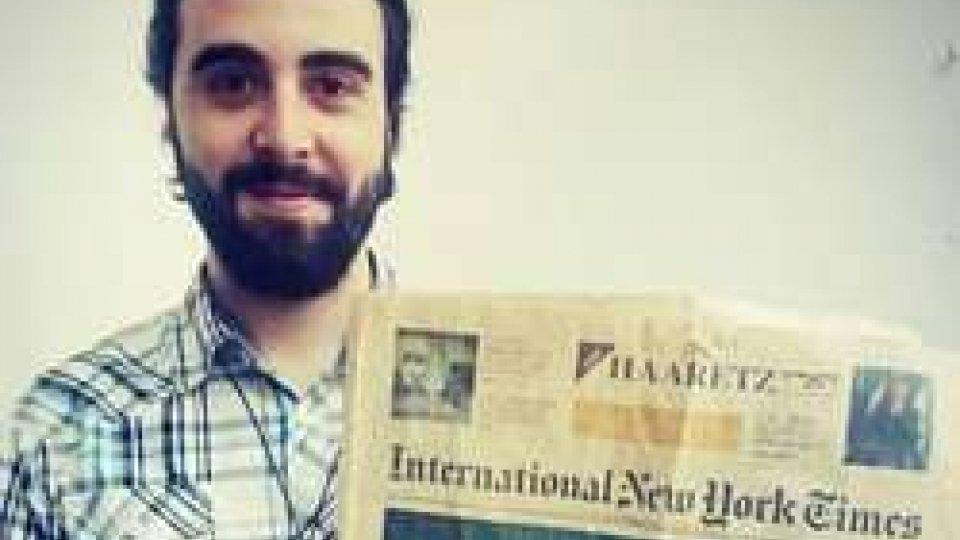 Francesco Mazzarini mostra il Times