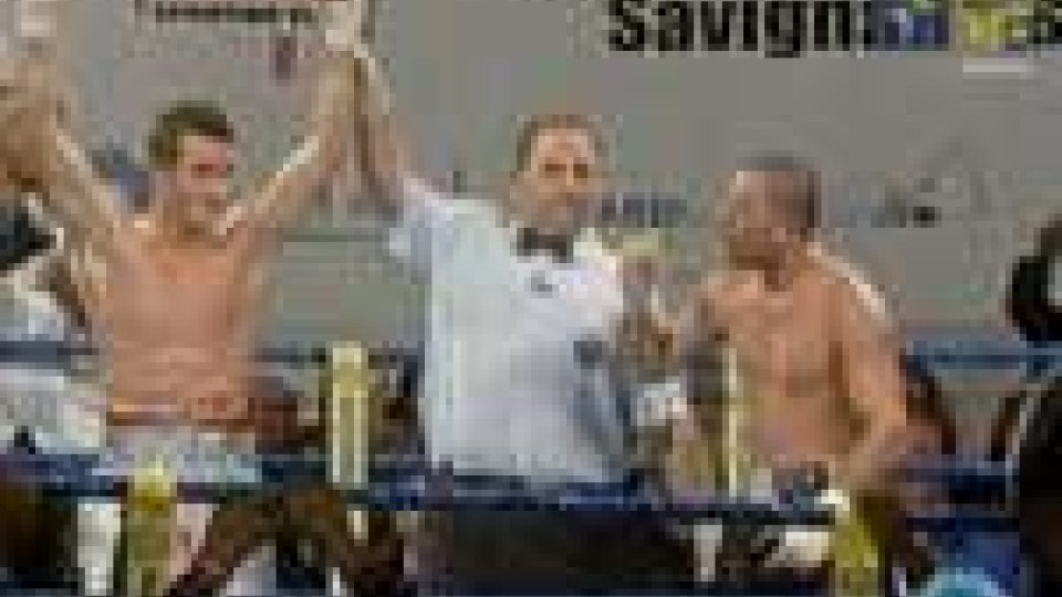 Signani campione italiano dei pesi mediBoxe: Signani vs Nespro