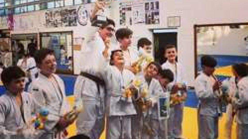 Judo: Domagnano si aggiudica il 1° Torneo di Judo dei Castelli a squadre