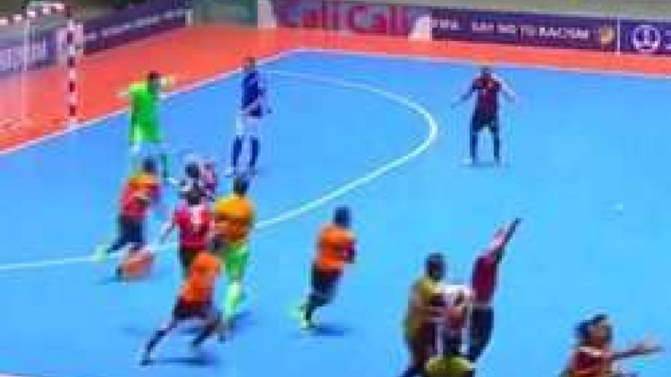 Mondiali Futsal, Italia ko agli ottavi: l'Egitto passa 4-3. Nell'Azerbaijan segna il portiere