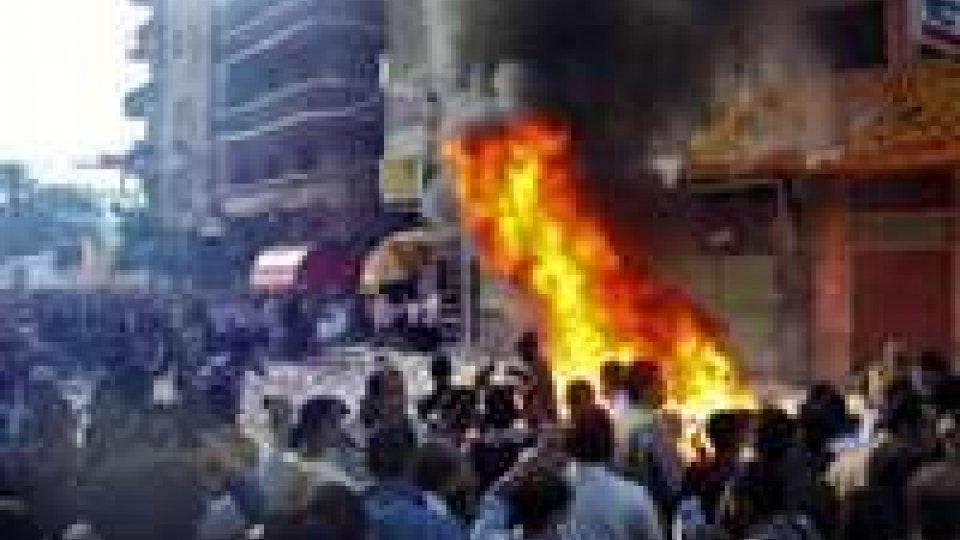 Egitto: tensione ancora altissima