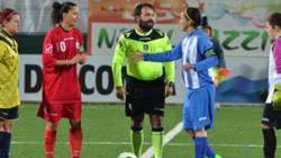 Calcio Femminile: finisce 4-1 tra San Marino e Riccione