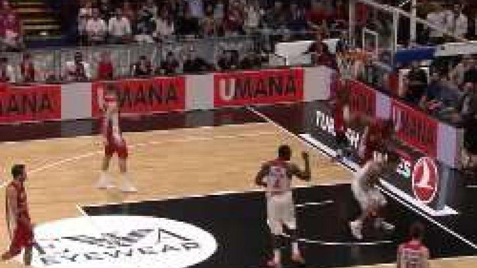 Eurolega: Milano si arrende nel finale 66-71Eurolega: Milano si arrende nel finale 66-71