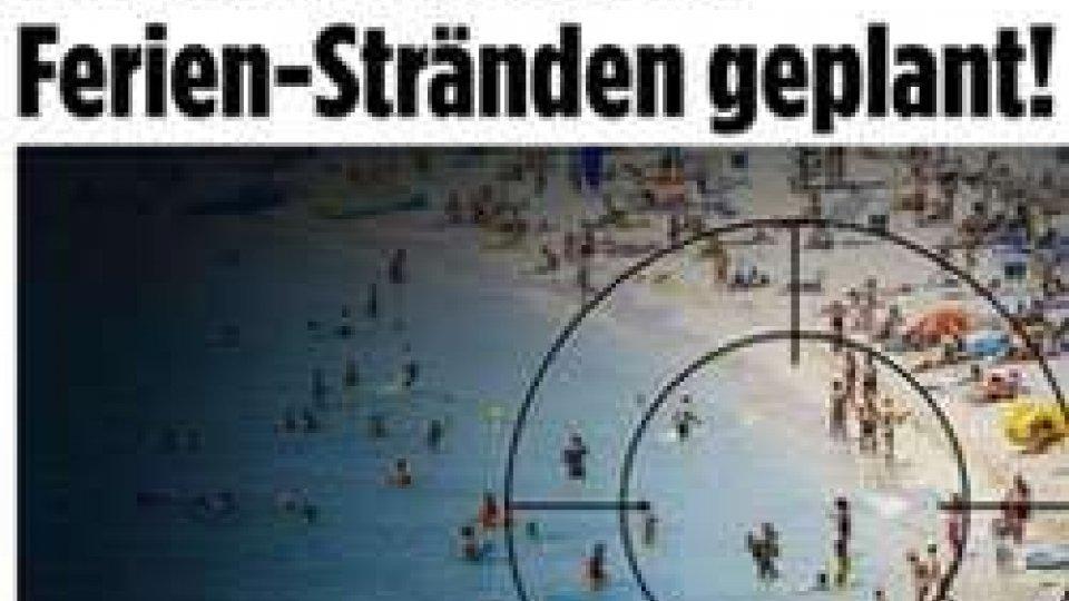 """Allarme terrorismo sulle spiagge italiane? Gnassi tuona: """"Tutto falso""""Bild: allarme sulle spiagge di Italia, reazioni da Rimini e Italia"""
