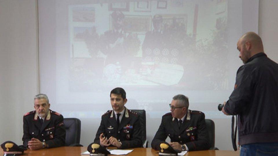 Cc RiccioneRimini, doppia operazione antidroga dei  carabinieri