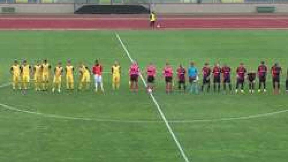 San Marino -  Sangiustese 3-0Il San Marino cala un tris sulla Sangiustese