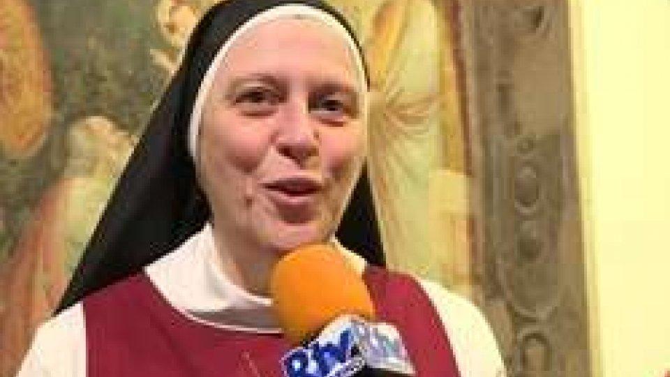 Madre Maria Gloria RivaL'Epifania del Bitino da Faenza spiegata da suor Gloria Riva in Pinacoteca San Francesco