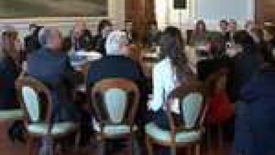 A Palazzo Begni la riunione del gruppo di lavoro sull'Integrazione Europea