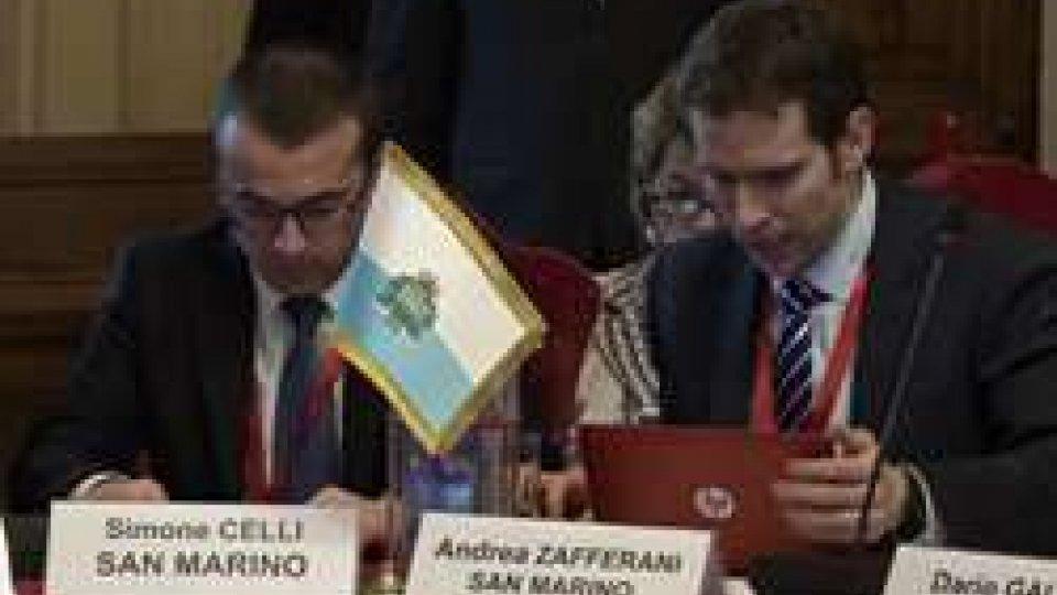 Simone Celli e Andrea Zafferani al MefGovernatori di FMI e Banca Mondiale a confronto a Roma: c'è anche San Marino