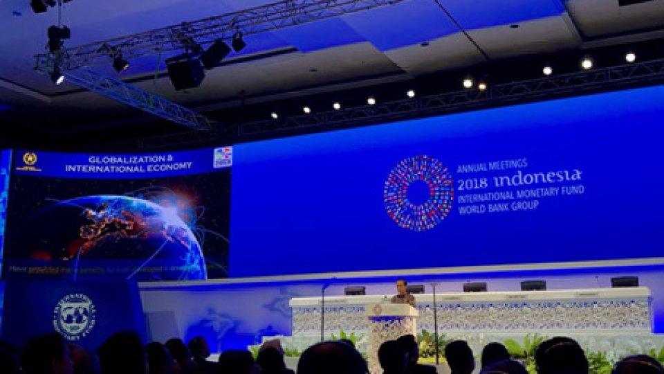 Fmi a Bali @twitterAnnual Meetings: primi appuntamenti, a Bali, per la delegazione sammarinese