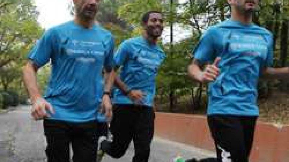 Il San Patrignano Running Team corre la Maratona di Roma
