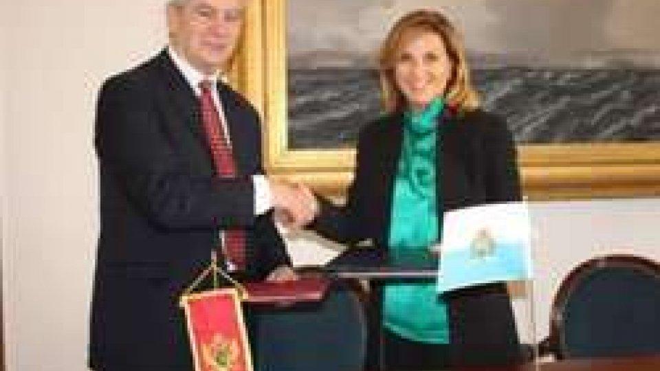 Daniela Rotondaro e Antun SbutegaTurismo: accordo tra S.Marino e Montenegro per cooperazione