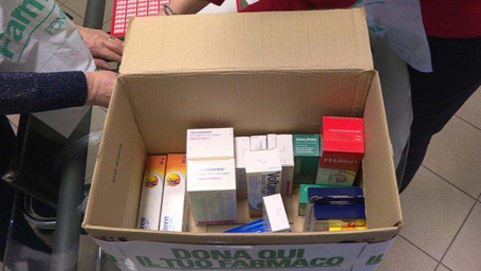 gli scatoloni si stanno riempiendoBanco Farmaceutico: i sammarinesi hanno cominciato a donare, riempiti i primi scatoloni
