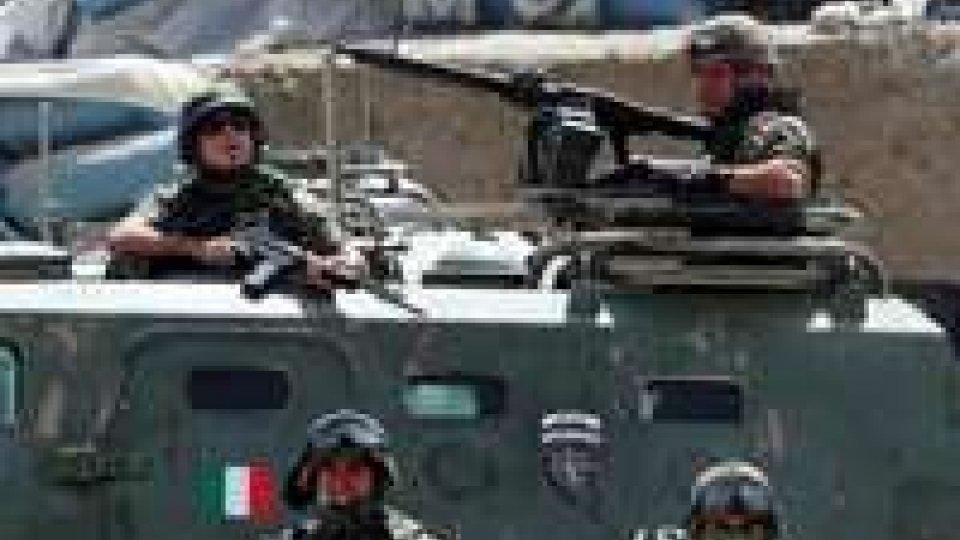 Afghanistan: esplosione al passaggio di soldati italiani. Nessun ferito